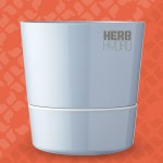 Herb Hydro Pot Nordic Blue