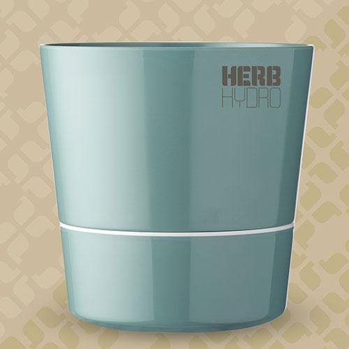Herb Hydro Pot Nordic Green