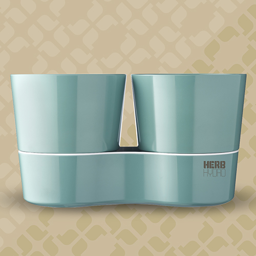 Herb Hydro Twin Nordic Green