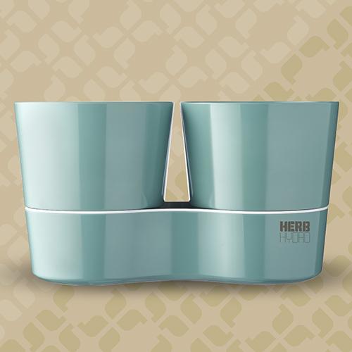 Herb Hydro Twin Nordic Green