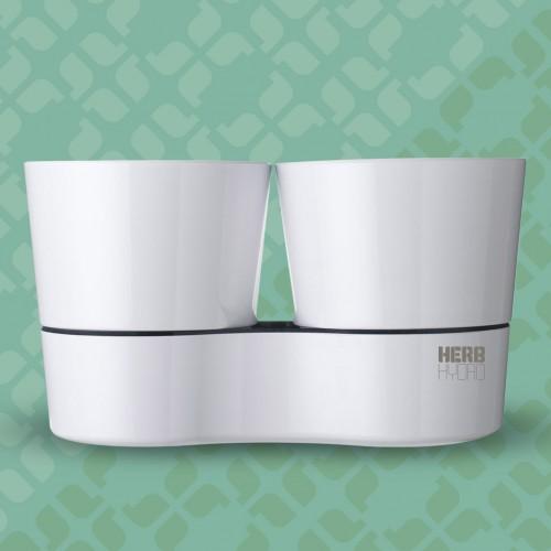 Herb Hydro Twin White